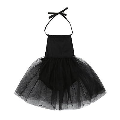 Lurryly Baby Girls Sleeveless Sequins Strap Dress Sundress Dress Clothes 0-24 M