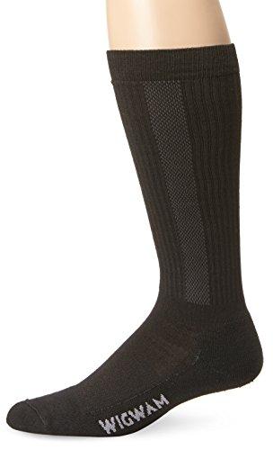 Wigwam Men's Ultimax Tall Boot Pro Sock,Black,Large /shoe Size:Men's 9-12,Women's 10-13