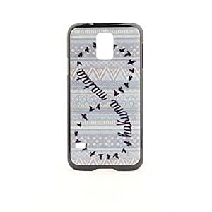 Pattern PVC Back Case for Samsung Galaxy S5 i9600