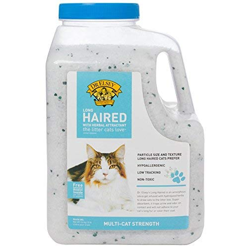 - Precious Cat Long Haired Cat Litter 8lbs