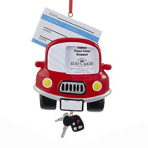 Ornaments Teen Christmas - Kurt Adler Drivers License Picture Frame Ornament
