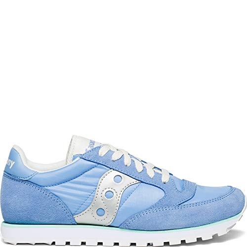 Damen bunt Low Silver Pro Jazz Einheitsgröße Saucony Trainer Green Blue Cross dxnSB7