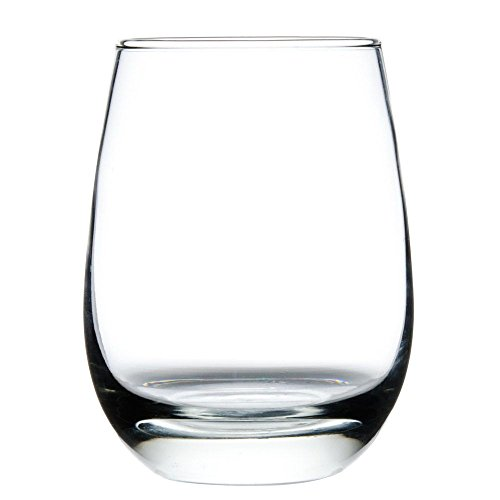Libbey 231 Stemless 15.25 Ounce White Wine Glass - 12 / CS