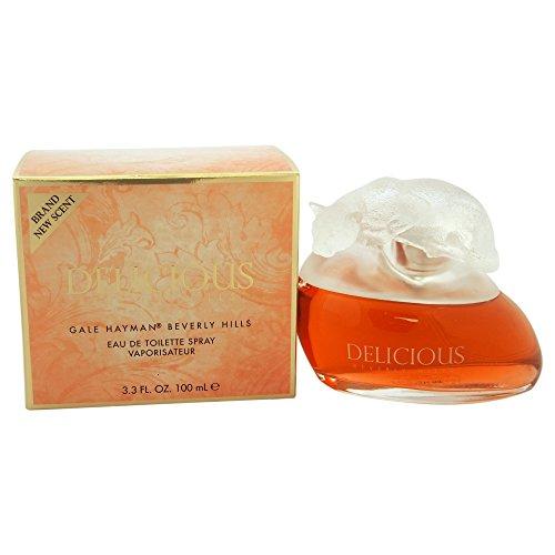 Delicious Mandarin Eau De Toilette - Delicious By Gale Hayman For Women. Eau De Toilette Spray 3.3 Ounces