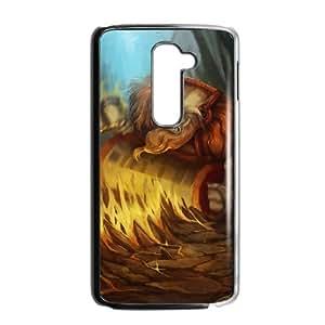 Dota2 EARTHSHAKER LG G2 Cell Phone Case Black 82You521649