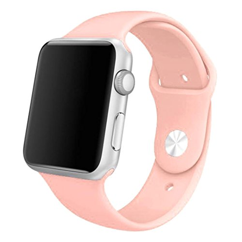 Apple Watch Band, Creazy® Sports Silicone Bracelet Strap Band for 42mm Apple Watch , Pink