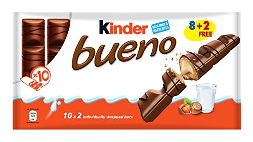 Kinder Bueno 43g bar x 10