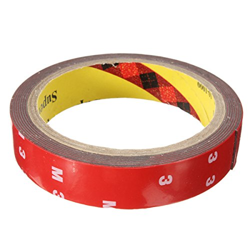 Measuring Mag Tape (Other Tools - Auto Acrylic Foam Double Sided Attachment Adhesive Tape 20mm - Sparkle Mag Acrylate Resin Effervesce Recording Fizz Measure Seethe Tapeline - 1PCs)
