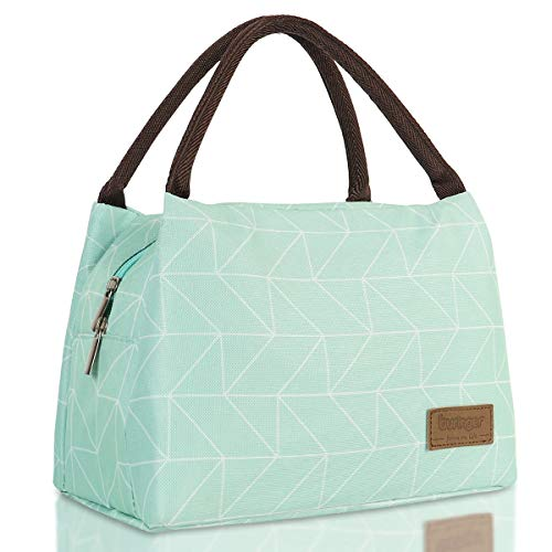 Buringer Reusable Insulated Lunch Bag Cooler Tote Box Meal Prep for Men & Women Work Picnic or Travel