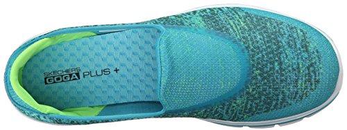 Skechers Go Walk 3 Glisten - Zapatillas Mujer verde azulado