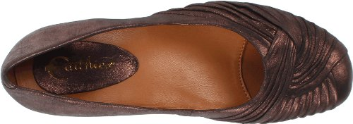 Earthies Womens Vanya Flat Copper F5qS2D