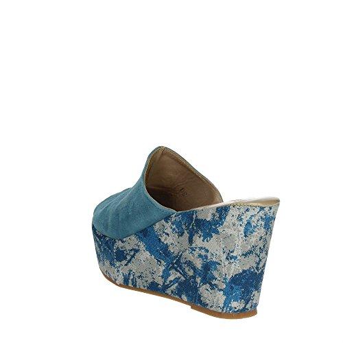 Cinzia Soft 4960 Pantoletten Damen Himmelblau