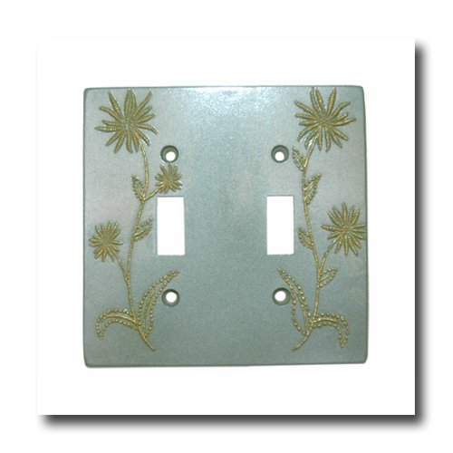 Shimmering Fields Double Switchplate