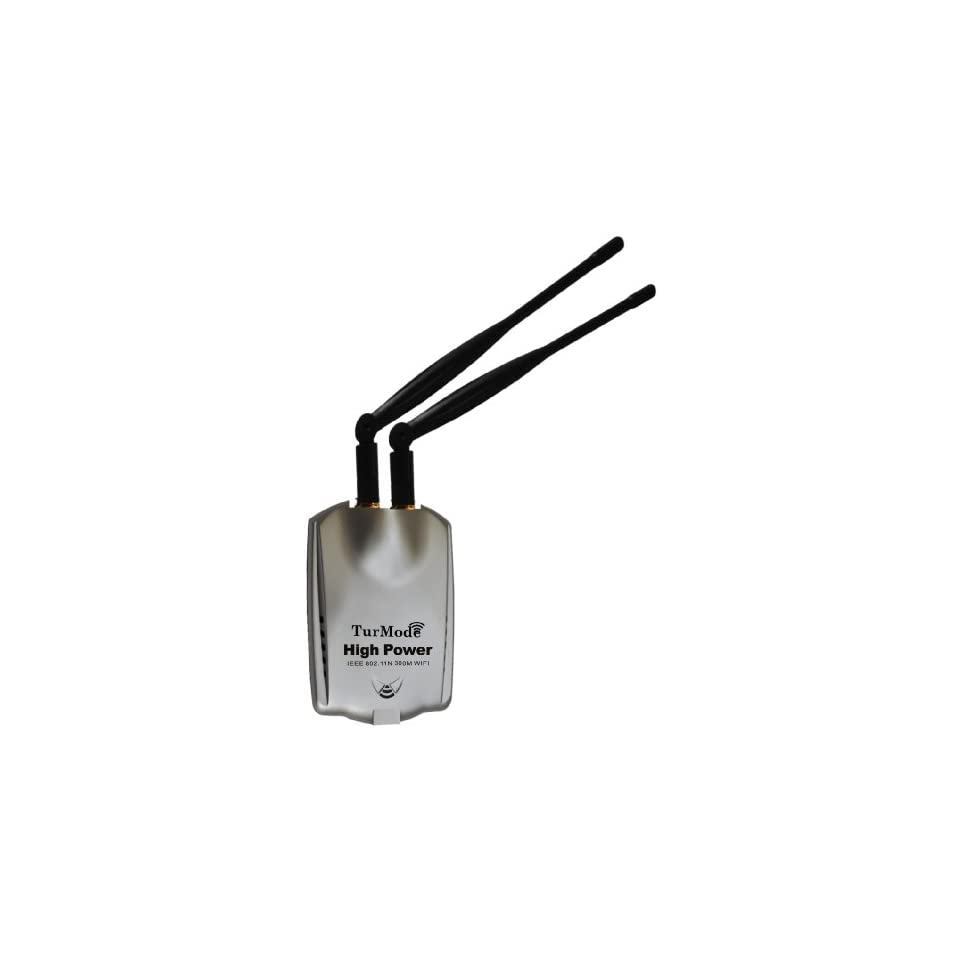 USB 802.11N 300M High Power Wireless LAN Adapter With Detachable Antenna (RT3072 Chipset) Support 2000/XP/Vista/Win7