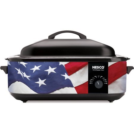 Nesco Designer Series 18 Quart Patriotic Cookwell Roaster Oven (Rival Toaster Oven Parts compare prices)