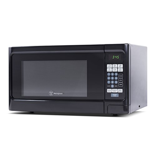 Westinghouse, WCM11100B, Countertop Microwave Oven, 1000 Watt, 1.1 Cubic Feet, Black Front, Black Cabinet, Small by Westinghouse