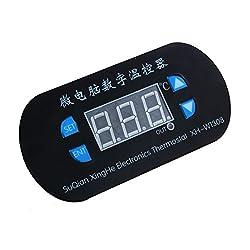 Digital Temperature,LtrottedJ DC 12V Digital LED Heat Cool Thermostat Temperature Controller Sensor