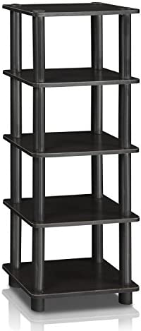 home, kitchen, storage, organization, racks, shelves, drawers,  standing shelf units 3 on sale Furinno LACi 4-Bins System Rack, 11.3 in USA