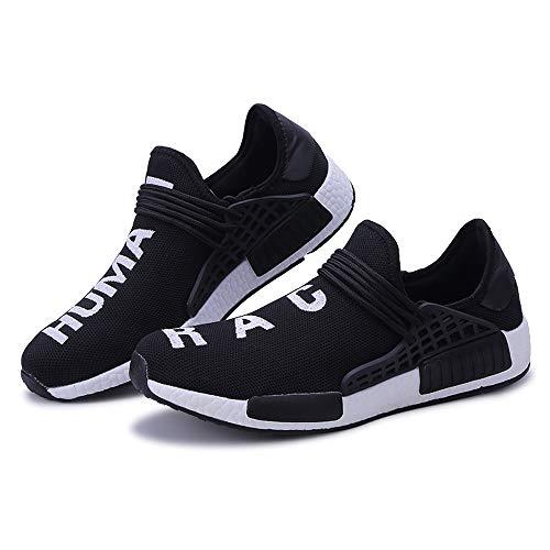 2018 Men's Lightweight Air Cushion Sports Shoes Running Shoes Black
