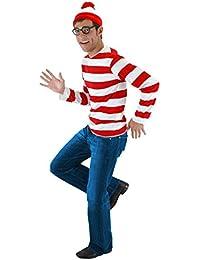 Where's Waldo Adult Costume Kit