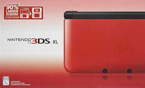 Nintendo 3DS XL - Red/Black by Nintendo