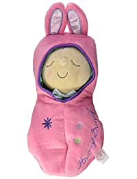 Manhattan Toy Snuggle Pod Hunny Bunny First Baby Doll with Cozy Sleep Sack for Ages 6 Months and Up