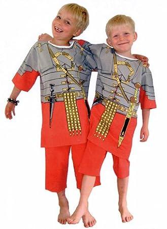 Play and Wear Pijama legionario Romano 3 - 4 años: Amazon.es ...