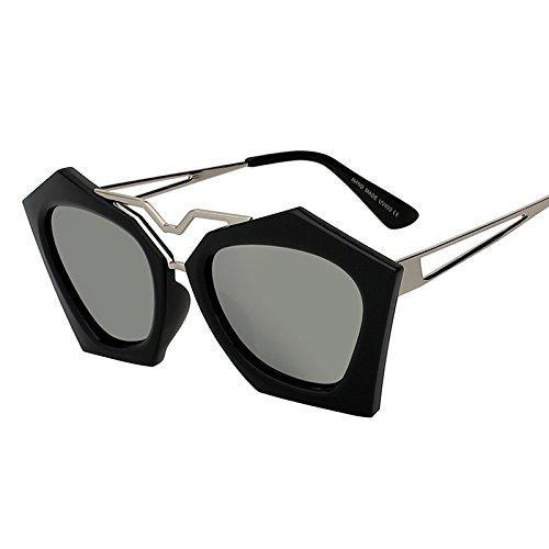 TIANLIANG04 Lunettes soleil Shadow de Lunettes UV400 lunettes Miroir femmes Superstar objectif en de Hommes Mode de forme Dos quadrilatère 7rxX7qwRB