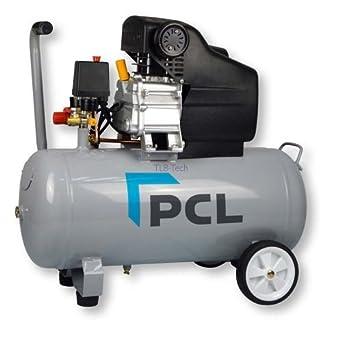 Compresor de aire con aceite de Tecalemit, 50 litros, depósito de aire: Amazon.es: Industria, empresas y ciencia