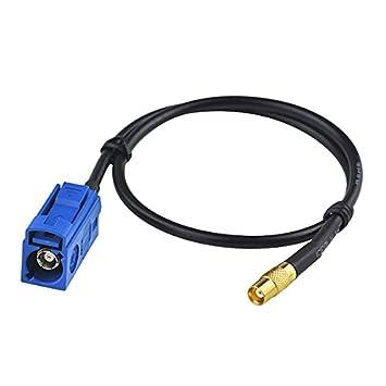 """sz-simon 1 ft 30 cm Cable Coaxial RF Cable eléctrico Conector Fakra """""""