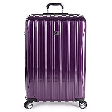 Delsey Luggage Helium Aero 29 Inch Expandable Spinner Trolley, One Size - Purple