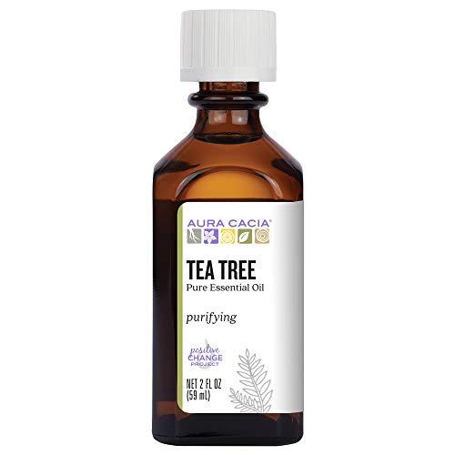 Aura Cacia  - Pure Tea Tree Essential Oil | Purity Certified | 2 fl. oz.