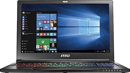 """MSI 15.6"""" GS63VR Stealth Pro-252, Full HD Display, Intel Core i7-7700HQ 2.8GHz, 16GB DDR4, 256GB SSD + 1TB SATA, NVIDIA GTX 1060 6GB, 802.11ac, Bluetooth, Win10H (Refurbished)"""