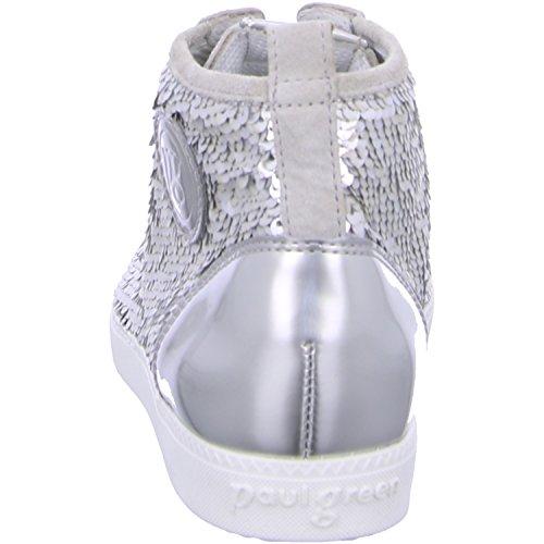 Paul Green Sneaker high , Farbe: grau/silber Grau/Silber