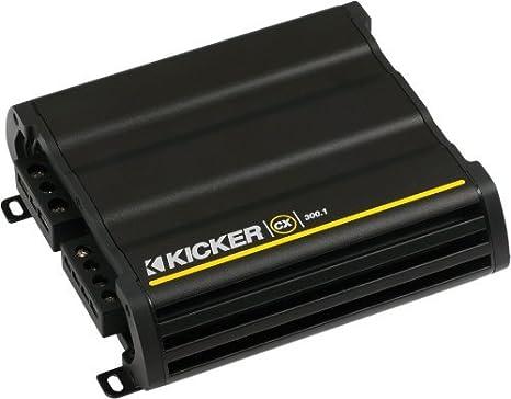 Kicker para Dodge Ram Quad/tripulación Cabina 02 – 15 10 compvt Sub en sillín Caja w/Rejilla, 300 W Amplificador Kit de cableado y: Amazon.es: Electrónica