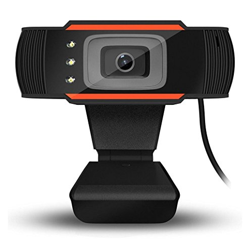 USB 12.0MP HD Camera Web Cam 360 MIC Clip-on for Skype Computer - 8