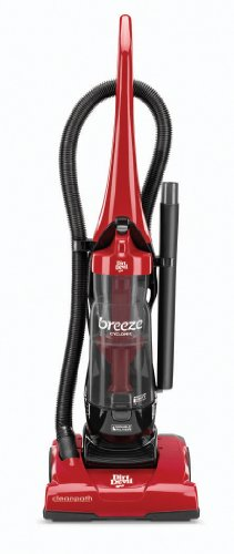 Dirt Devil Vacuum Cleaner Breeze Cyclonic Corded Bagless Upright Vacuum UD70105]()