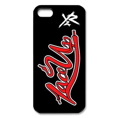 MGK Rapper Kelly Lace Up Young and Reckless Design Snap on Apple iPhone 5/5s Nice Durable Hard Case (One Direction Ipod 5 Custom Case)