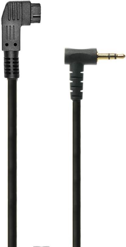 3 Remote ACC Cable for Minoltas and Sonys Cameras PocketWizard S-RMS1AM-ACC Black