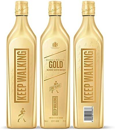 Johnnie Walker Gold Whisky Escocés Edición Limitada, 200 Aniversario, 700ml