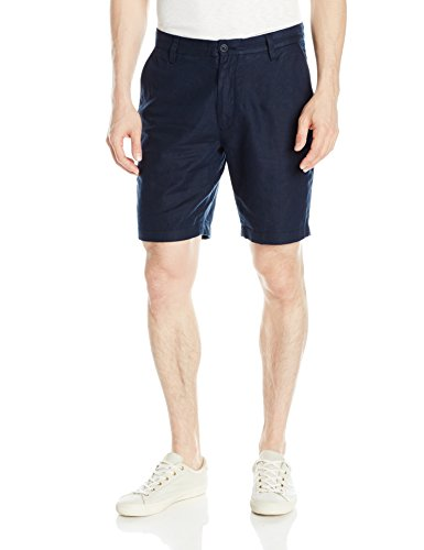 Nautica Men's Classic Fit Linen Blend Short, Navy, 38W ()