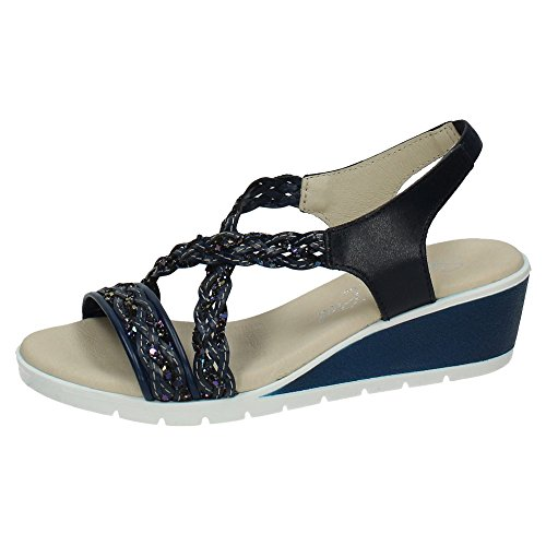 sandales Marine SPAIN femme IN Bleu MADE Owpqn8TEax