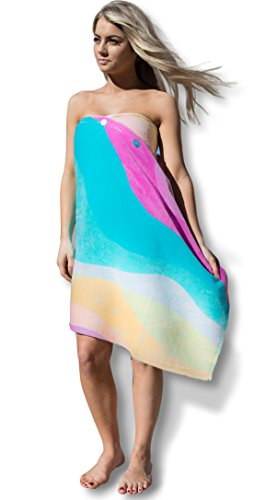 fba310c15e Jual Simple Sarongs Women's Beach Towel Swimsuit Cover-up Wrap All ...