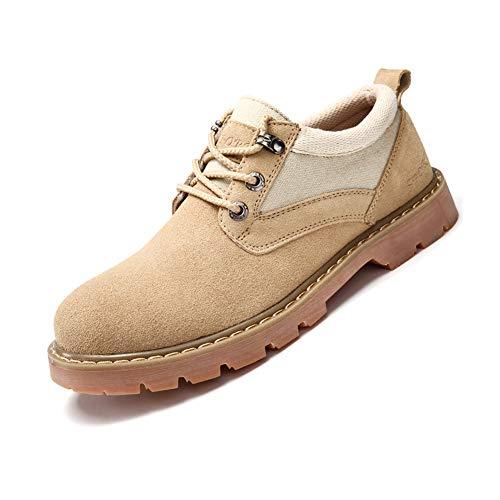 Talla Yixiny 8819 Lab Color Hombre De Caqui uk7 5 Para 41 Piel Abc Antideslizantes 8 Zapatos cn42 TxPwPf