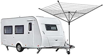 Grobach - Soporte de fijación para base con ruedas para tendederos, antenas, tiendas de campaña, etc.: Amazon.es: Coche y moto