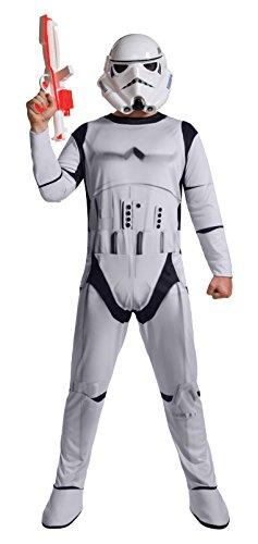 Stormtrooper Costumes Disney (Rubie's Costume Co Men's Star Wars Classic Stormtrooper Costume, White, X-Large)