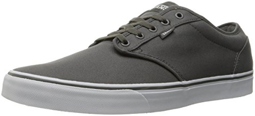 Vans Mens Atwood  Canvas  Pewter White Skate Shoe 10 Men Us