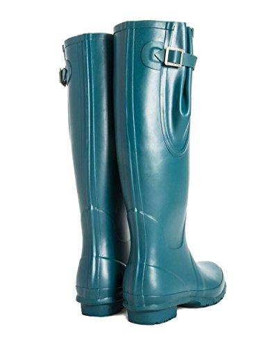 To Fly Finish Up Extra Boots Ladies Fit Dragon Adjustable Rubber Natural Wide Calf Inc expands Matt Rockfish Wellies Award 45cms Winning B8ZZYS
