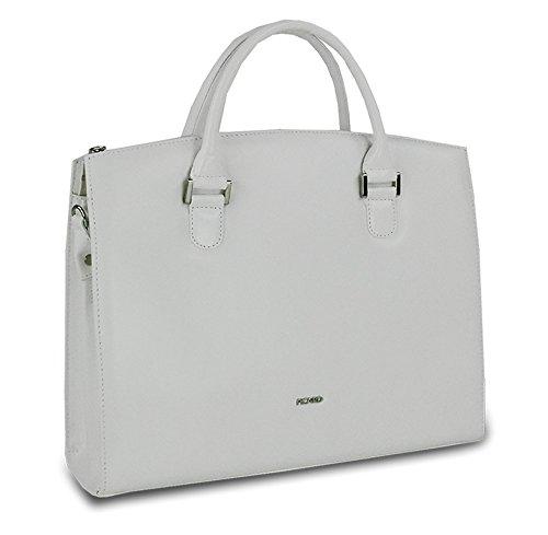 Picard Damen Berlin Shopper, 36x30x11 cm Weiss
