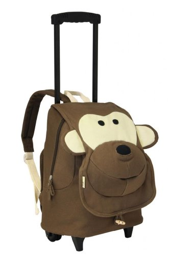 Ecogear Ecozoo Kids Rolling Monkey, Brown, One Size